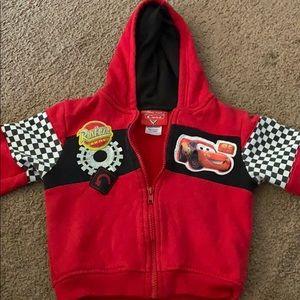 Cars zip up hoodie
